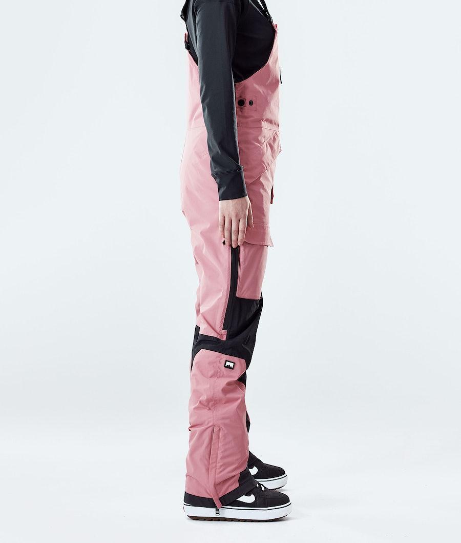 Montec Fawk W Women's Snowboard Pants Pink/Black