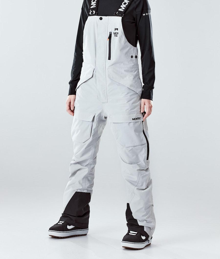 Montec Fawk W Snowboard Broek Light Grey
