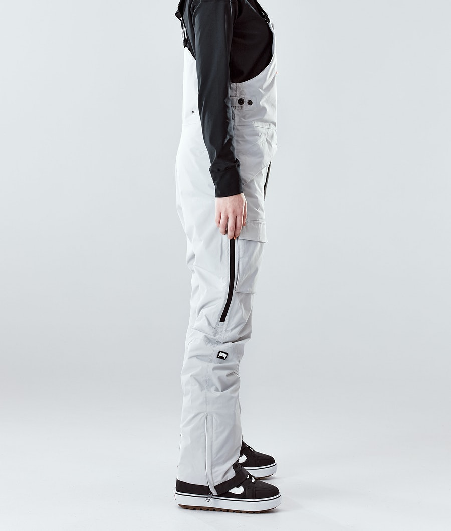 Montec Fawk W Women's Snowboard Pants Light Grey