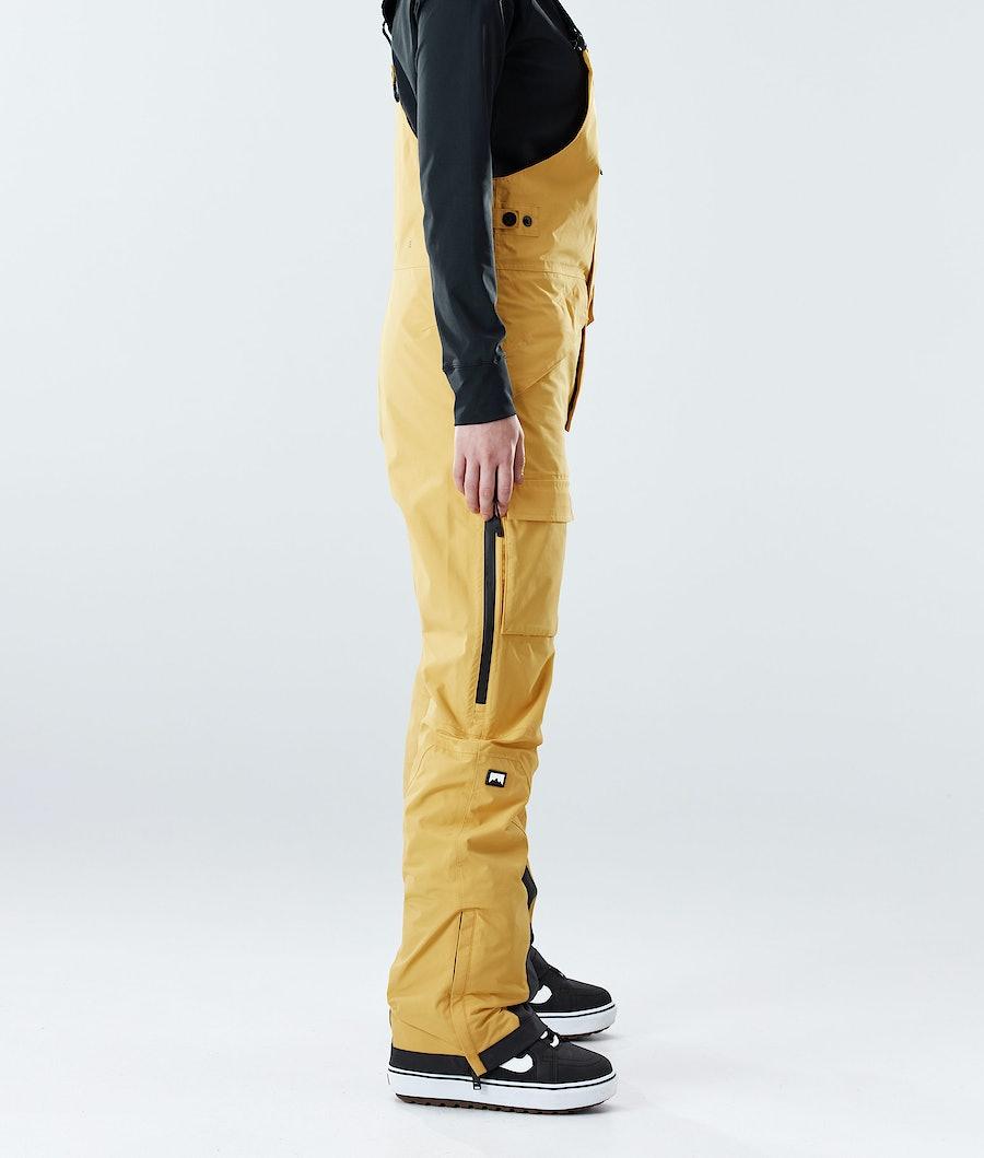 Montec Fawk W Women's Snowboard Pants Yellow