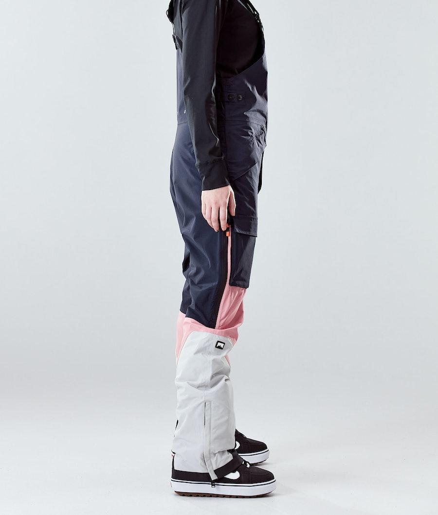 Montec Fawk W Women's Snowboard Pants Marine/Pink/Light Grey
