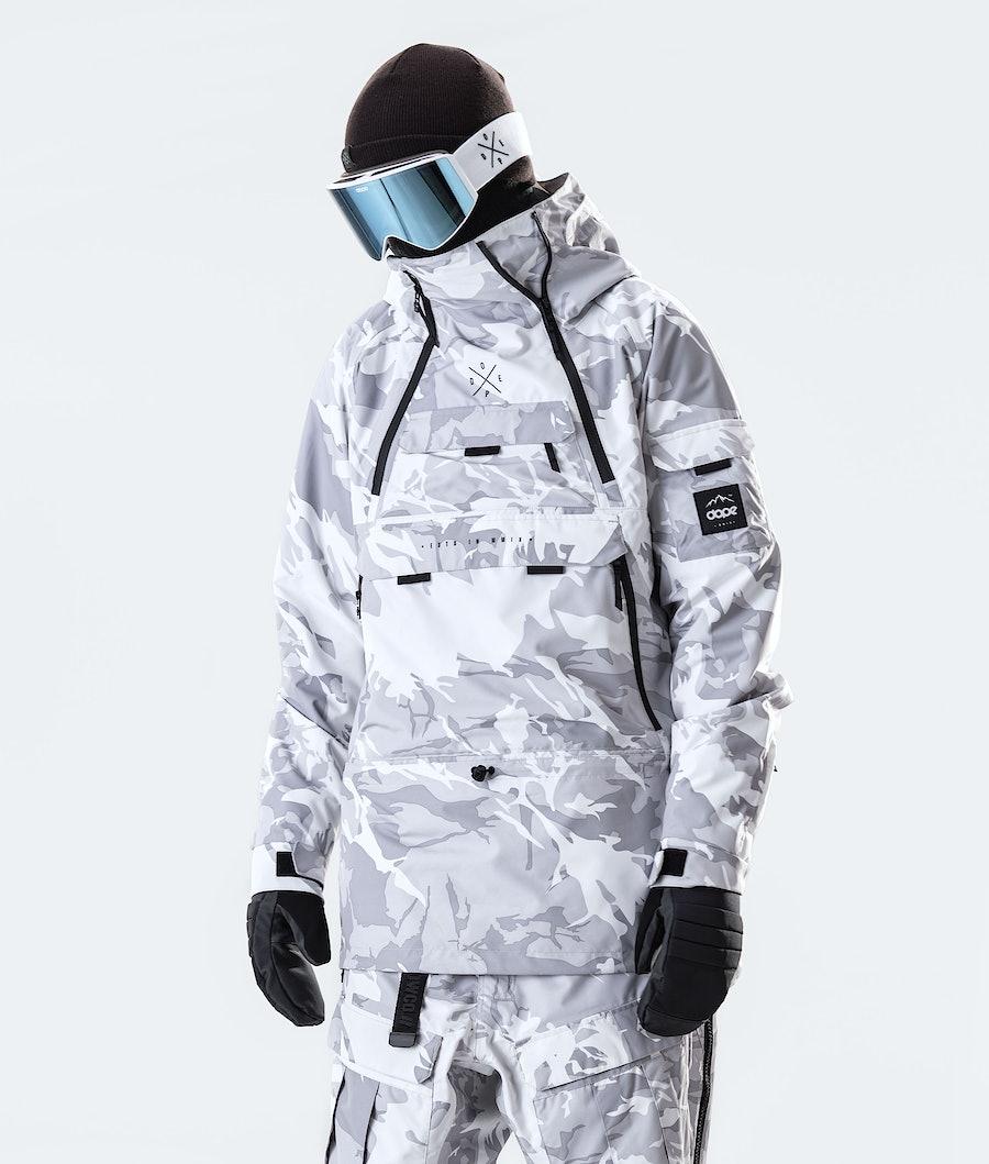 Dope Akin Snowboard Jacket Tucks Camo