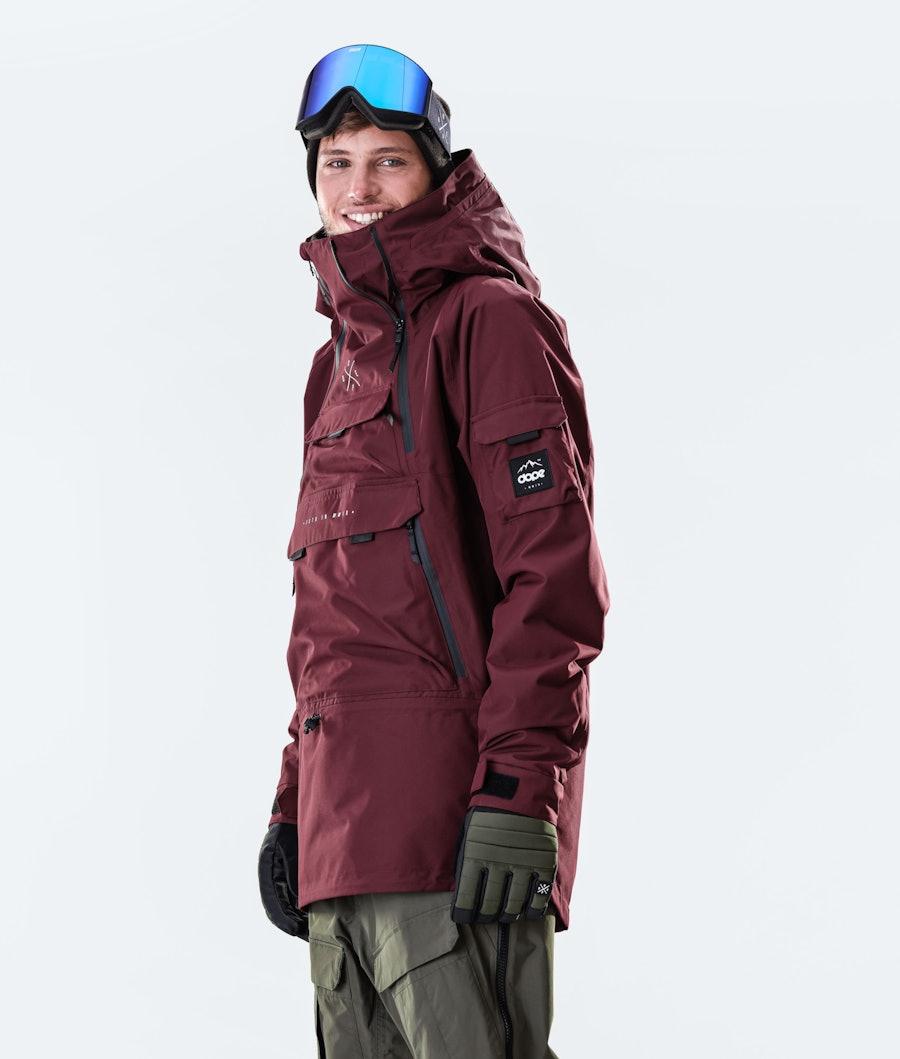 Dope Akin Snowboardjacka Burgundy