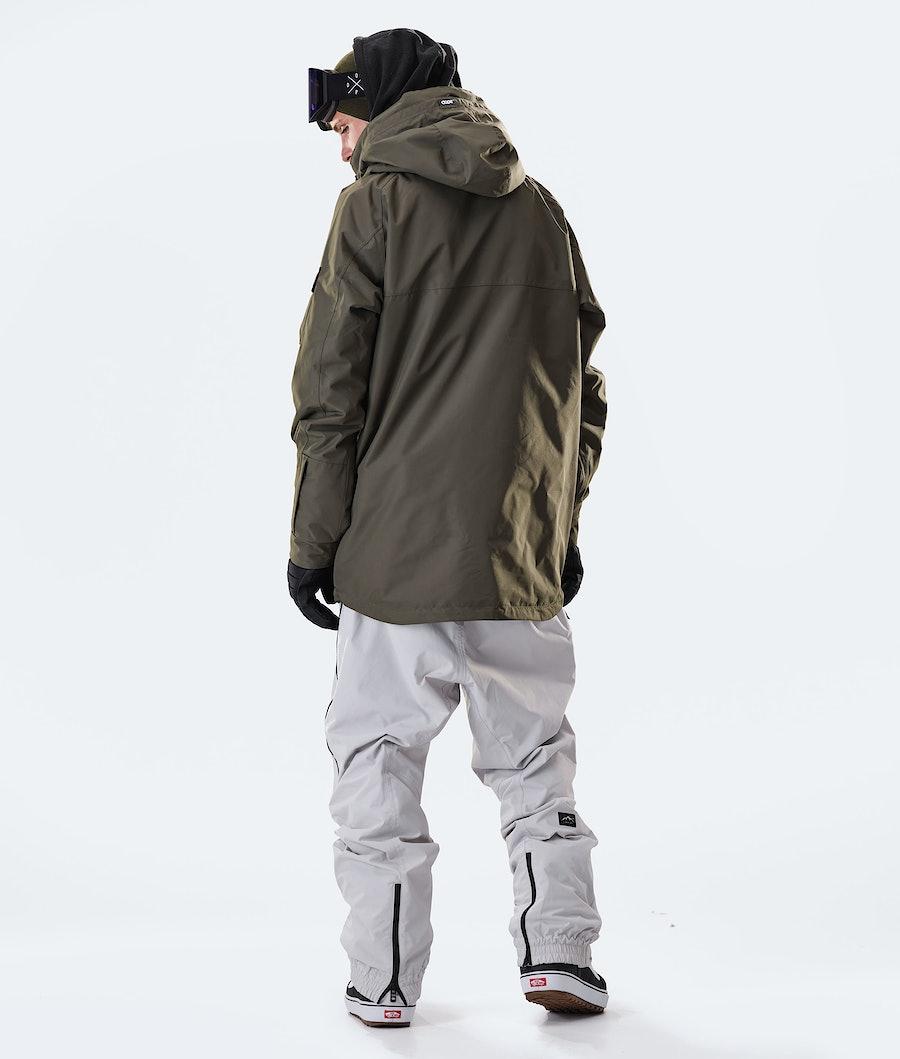 Dope Akin Ski Jacket Olive Green