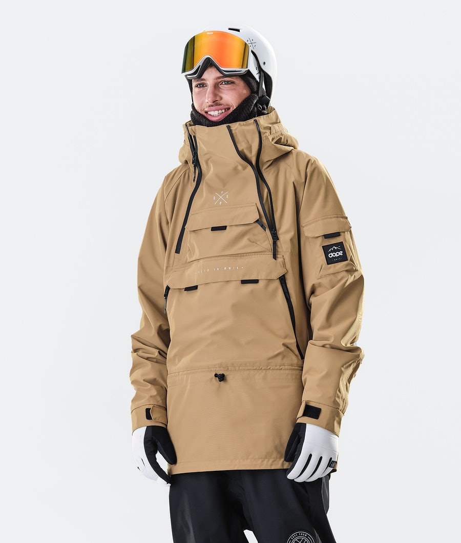 Akin Snowboard Jacket Men Gold