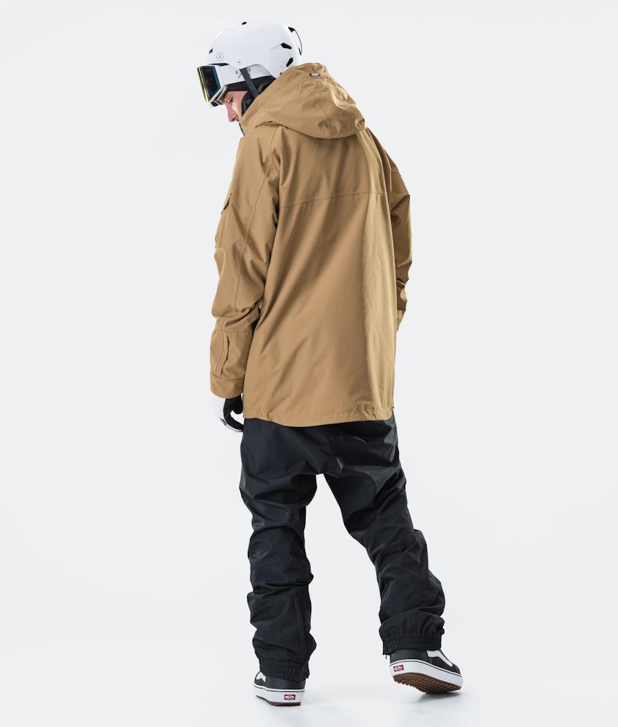 Dope Akin Snowboard Jacket Gold