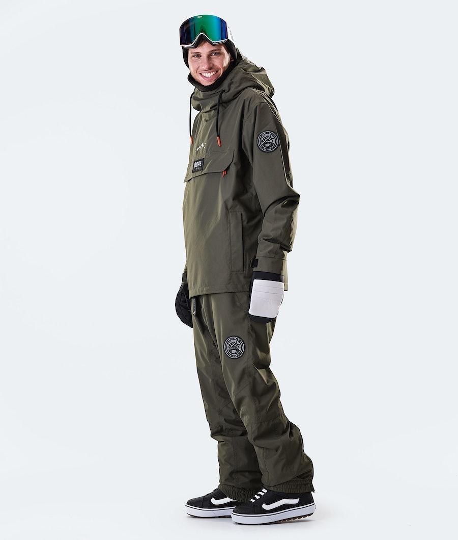 Dope Blizzard PO 2020 Snowboardjacke Olive Green