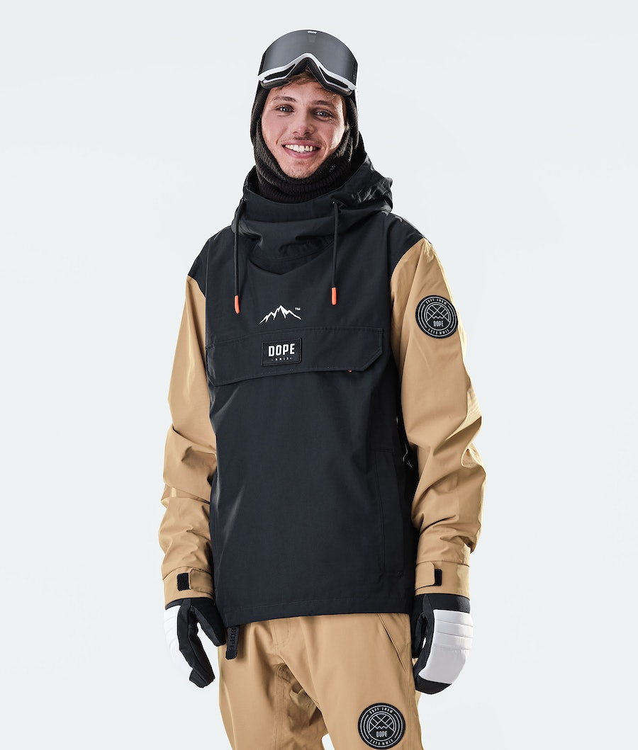 Blizzard PO Snowboard Jacket Men Gold/Black