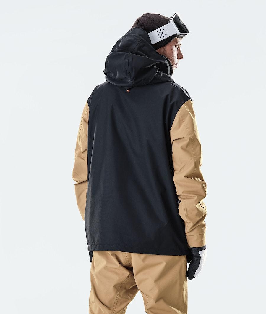 Dope Blizzard PO Snowboard Jacket Gold/Black