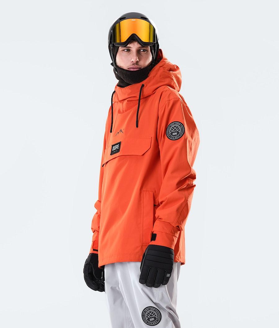 Dope Blizzard PO Snowboard Jacket Orange