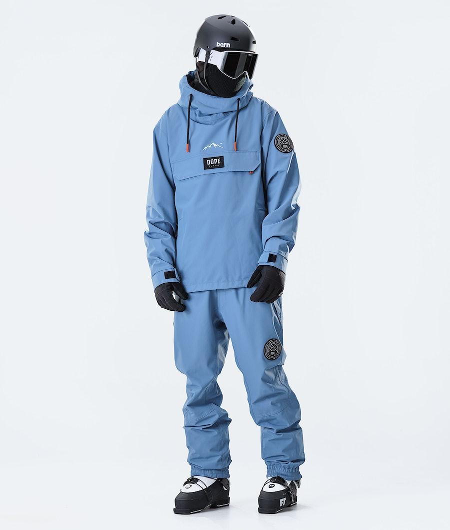 Dope Blizzard PO 2020 Ski Jacket Blue Steel