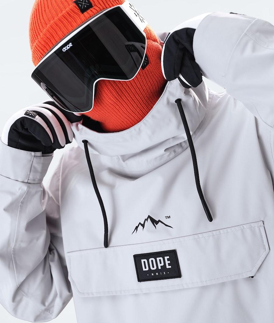 Dope Blizzard PO 2020 Veste de Ski Light Grey