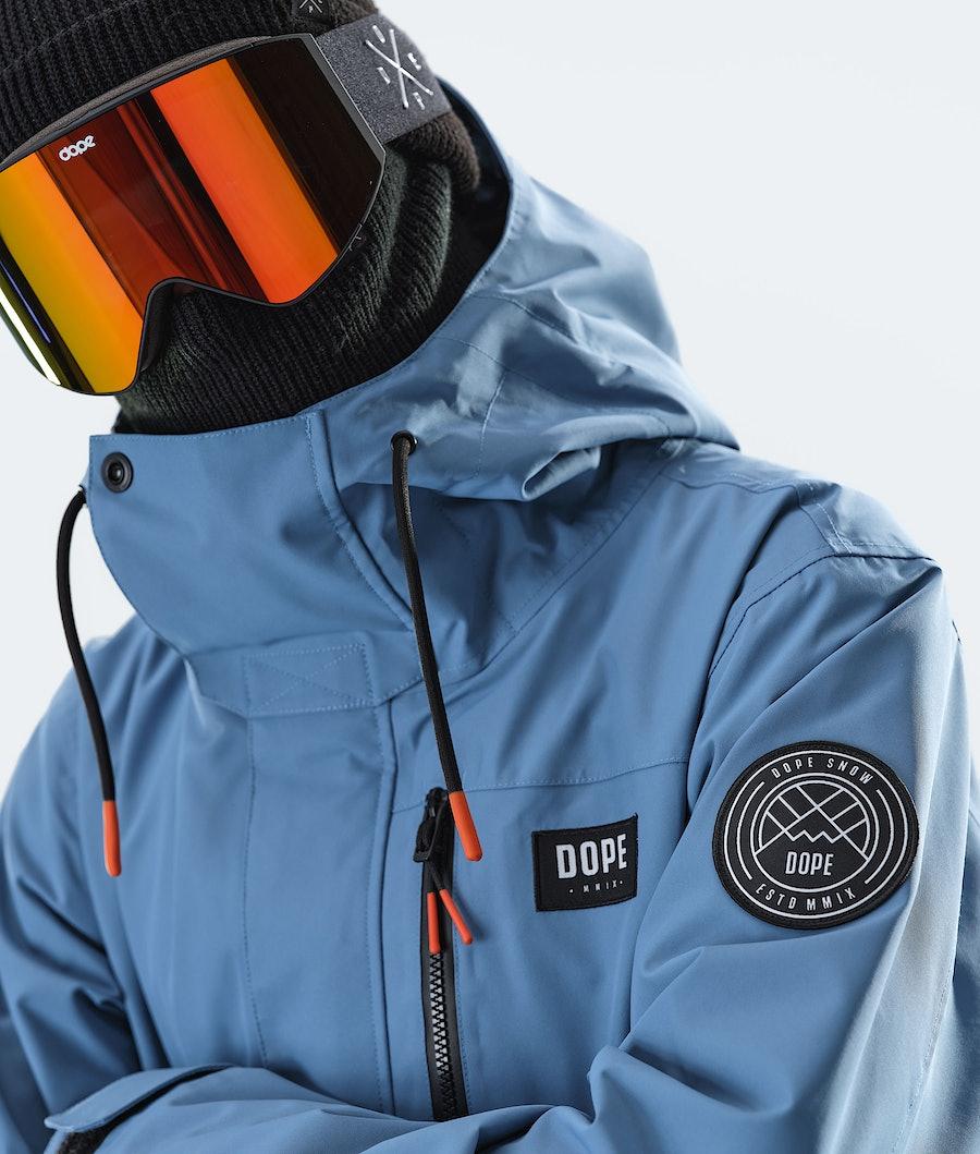 Dope Blizzard FZ 2020 Giacca Snowboard Blue Steel