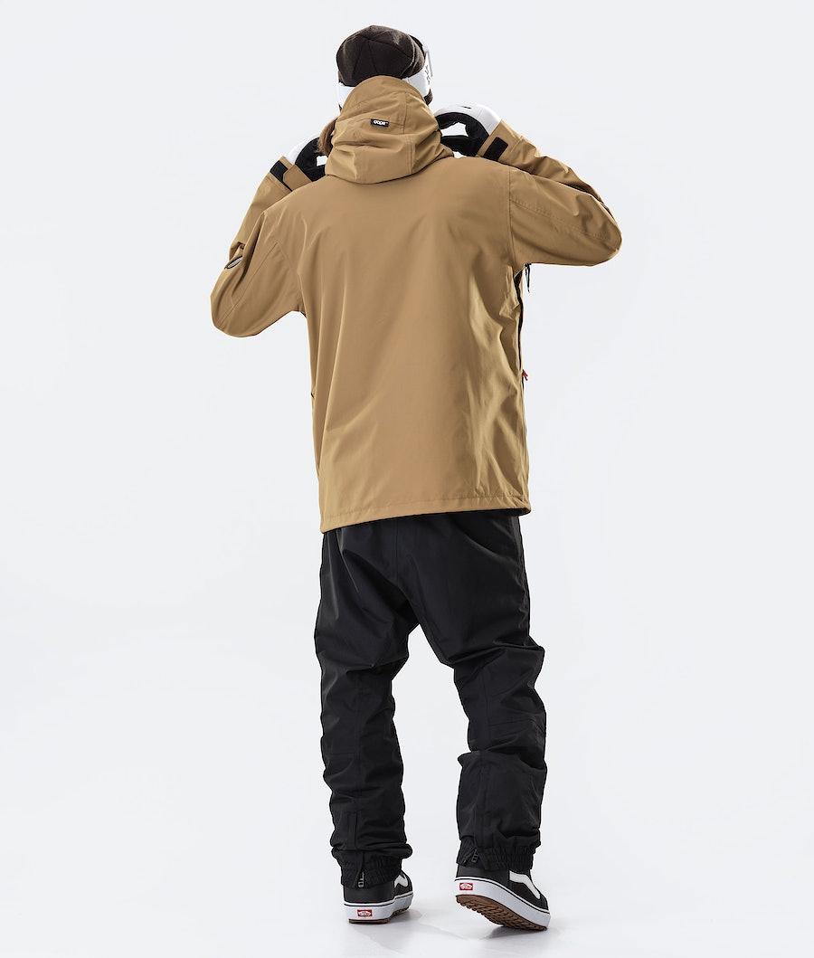 Dope Blizzard FZ 2020 Snowboard Jacket Gold