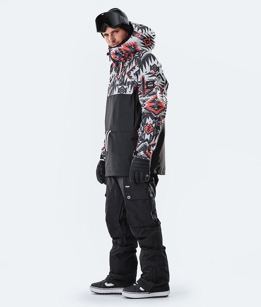 Dope Annok Snowboard Jacket Arrow Red/Black