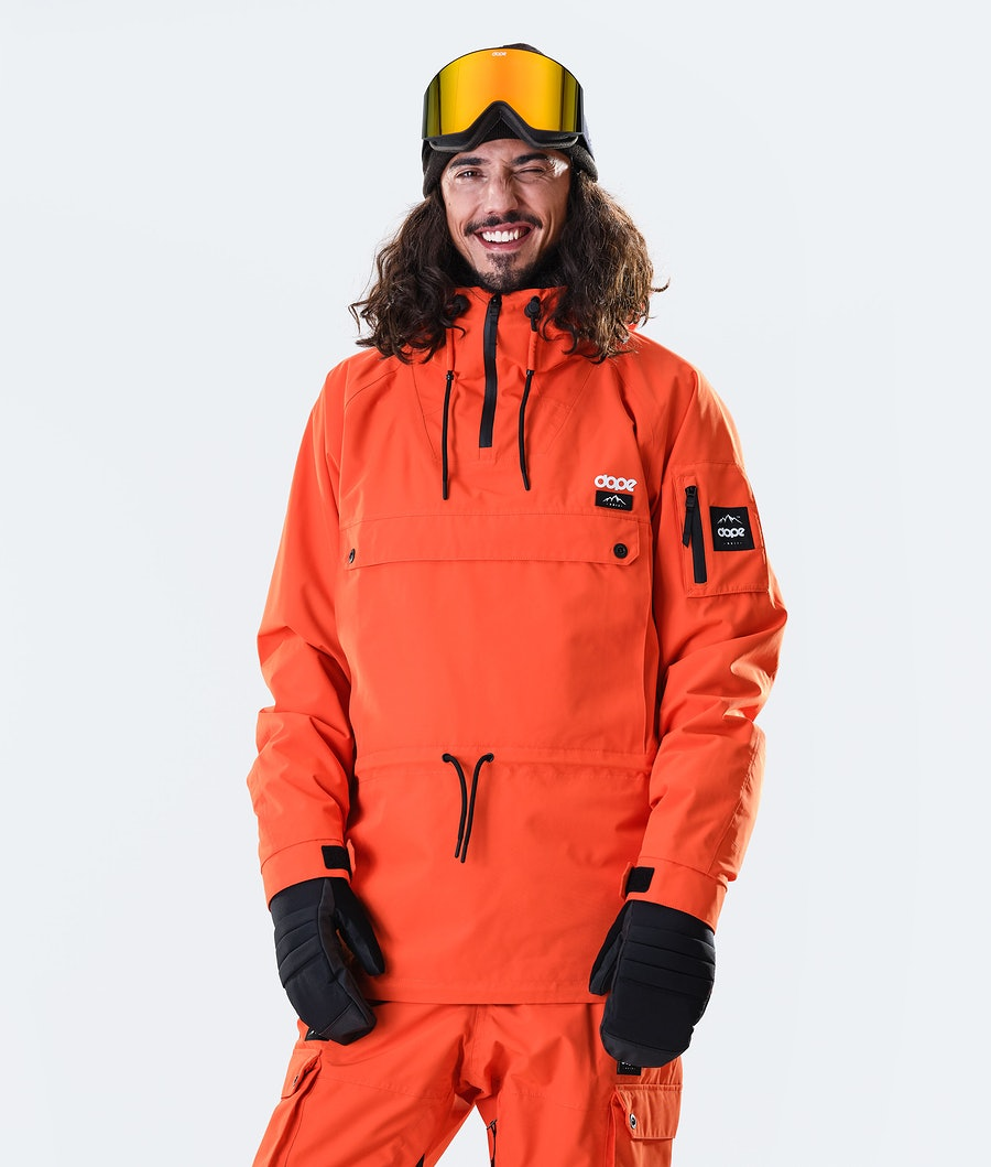 Annok Snowboard Jacket Men Orange