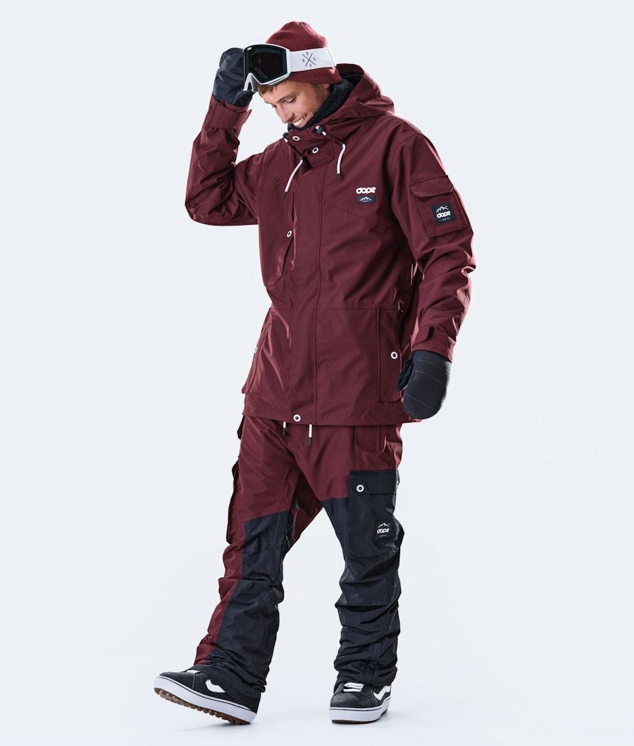 Dope Adept Snowboardjacka Burgundy