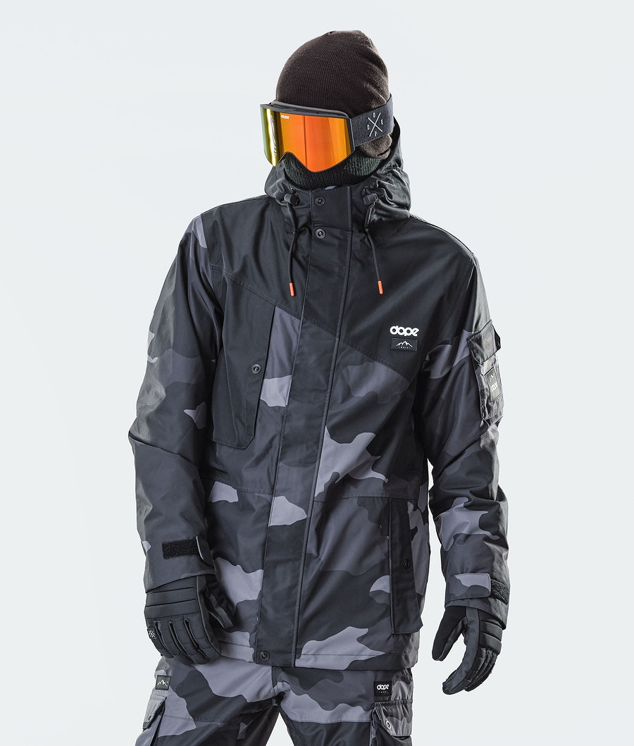 Adept Snowboard Jacket Men Black/Black Camo