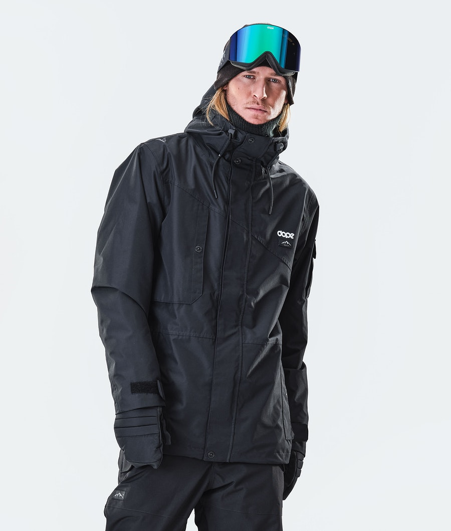 Adept Snowboard Jacket Men Blackout