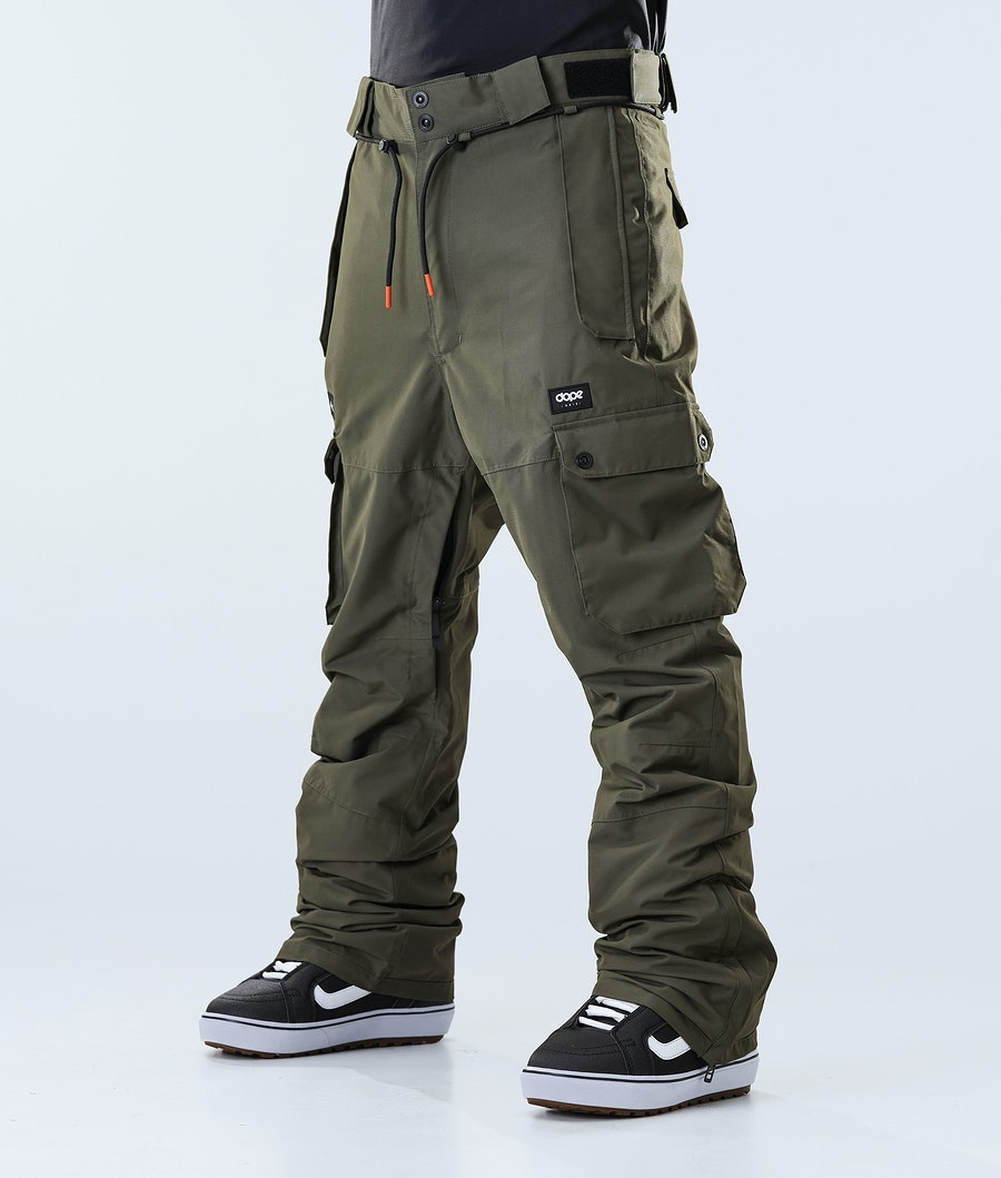 Iconic Snowboard Pants Men Olive Green