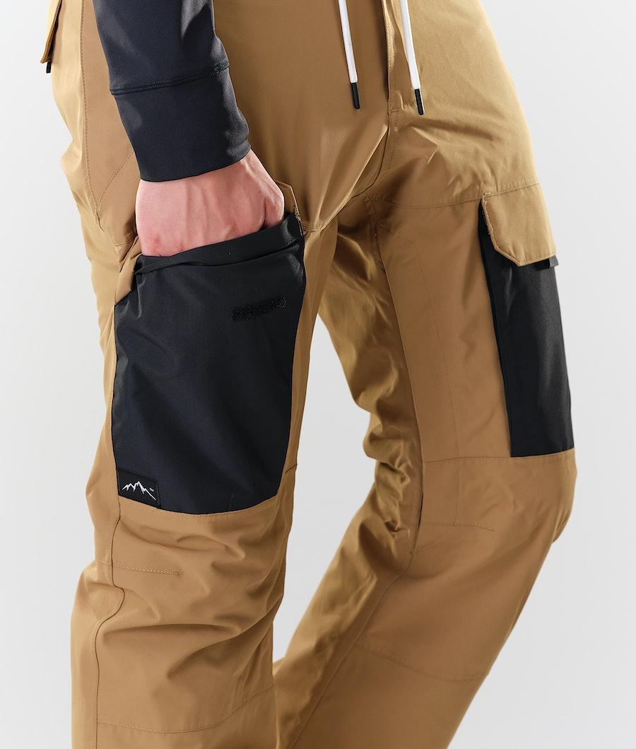 Dope Poise Snowboardbyxa Gold/Black