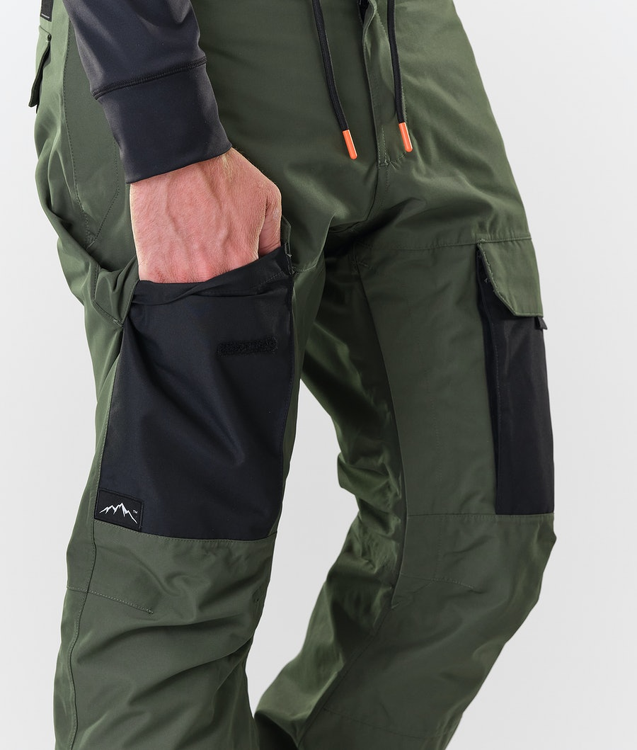 Dope Poise Snowboardbyxa Olive Green/Black