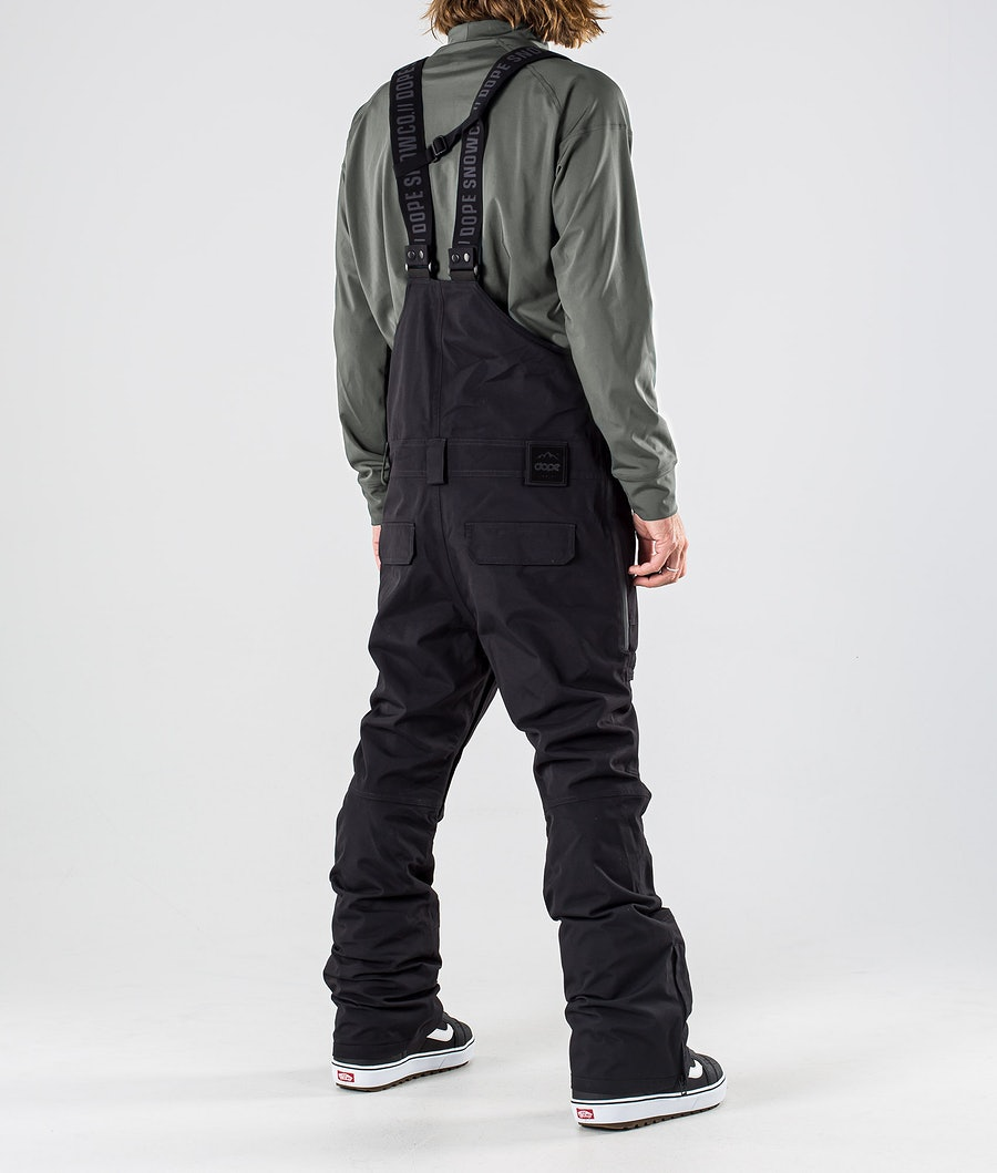 Dope Notorious B.I.B Snowboard Pants Black