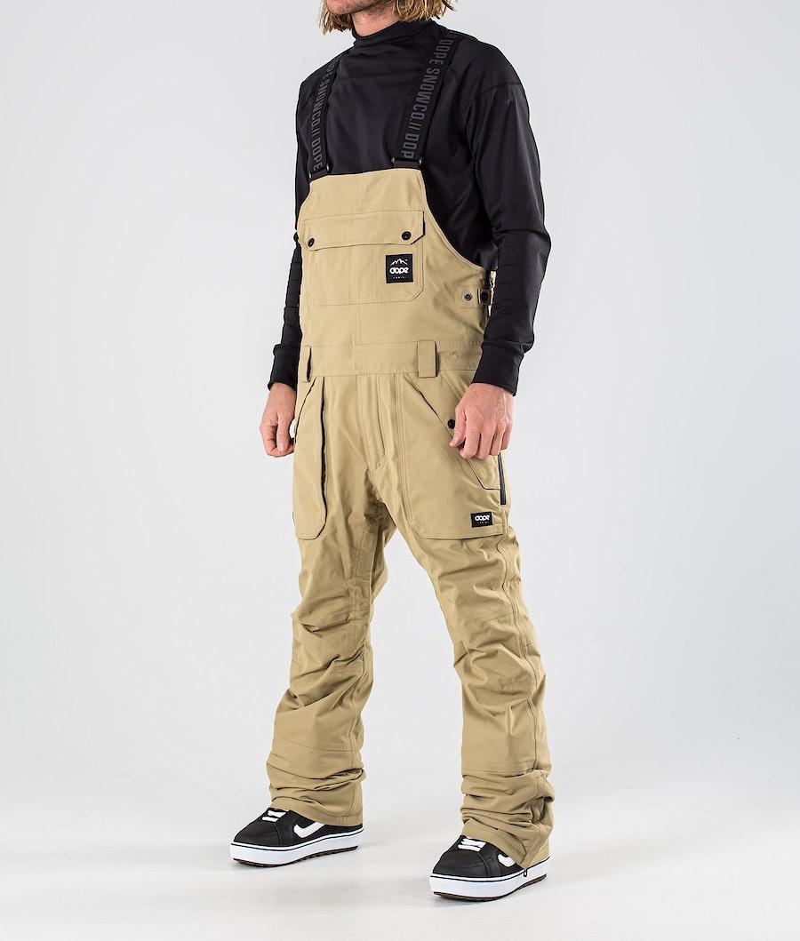Notorious B.I.B Snowboard Pants Men Khaki