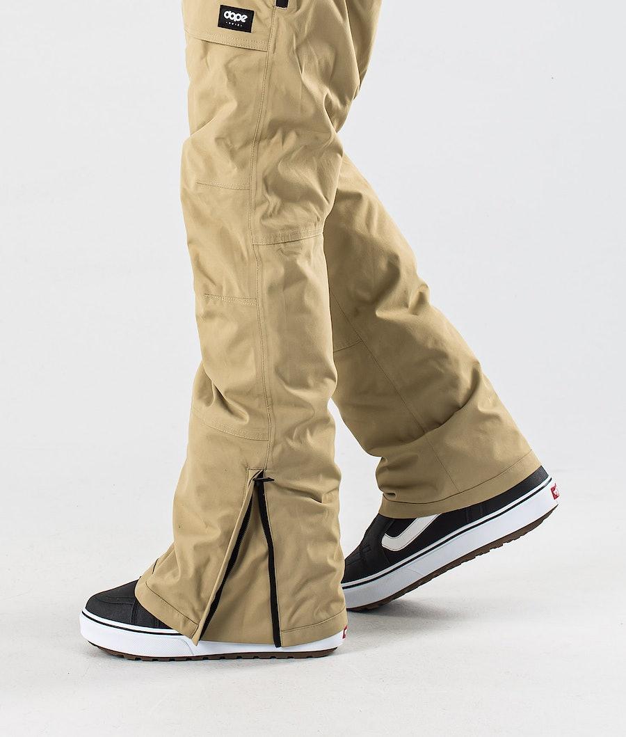 Dope Notorious B.I.B Snowboard Pants Khaki