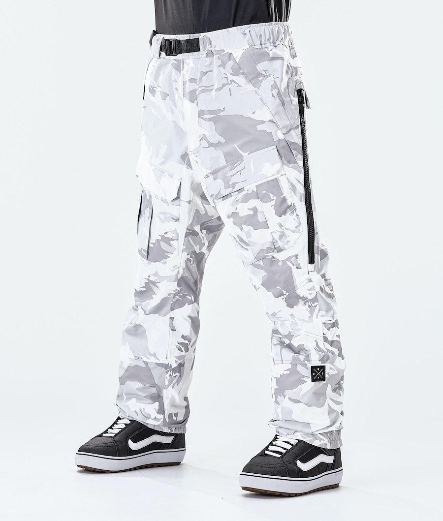 Antek Snowboard Pants Men Tucks Camo