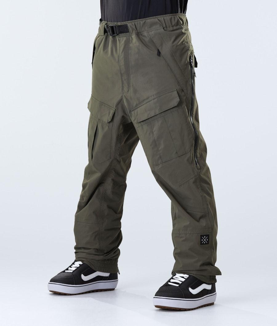 Antek Snowboard Pants Men Olive Green