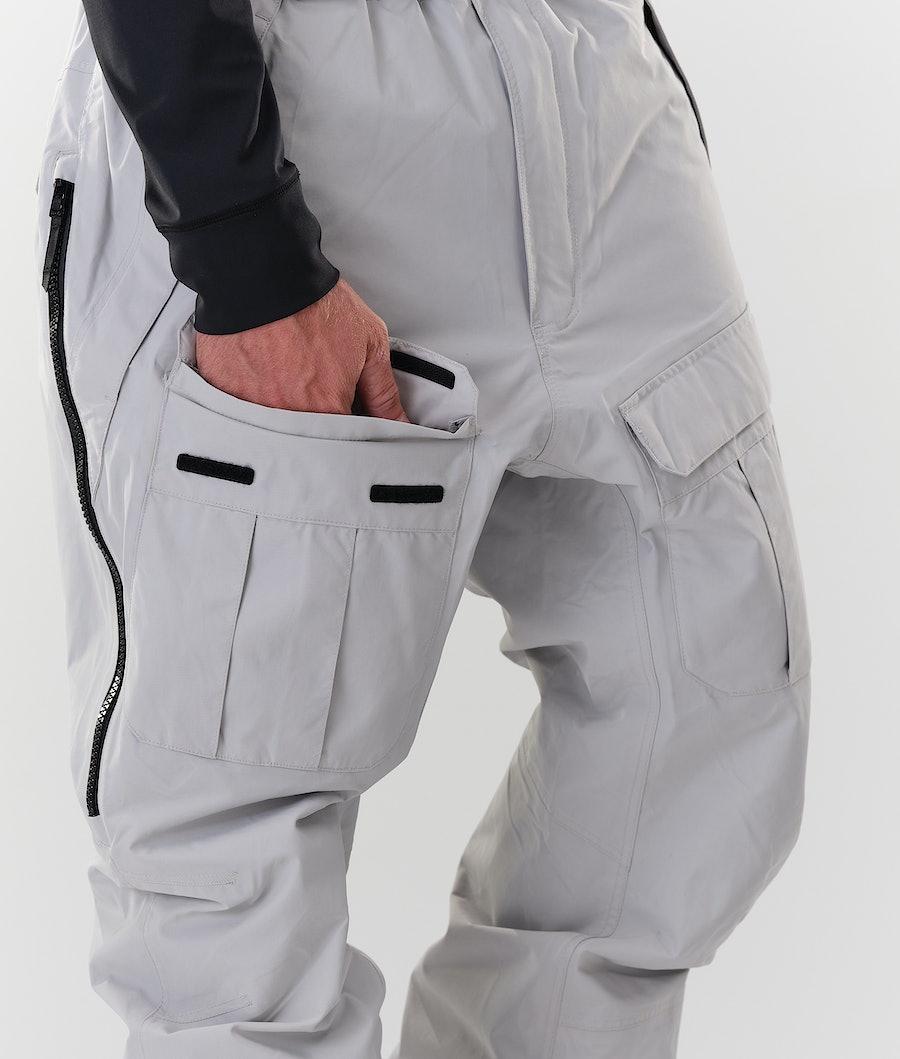 Dope Antek Ski Pants Light Grey