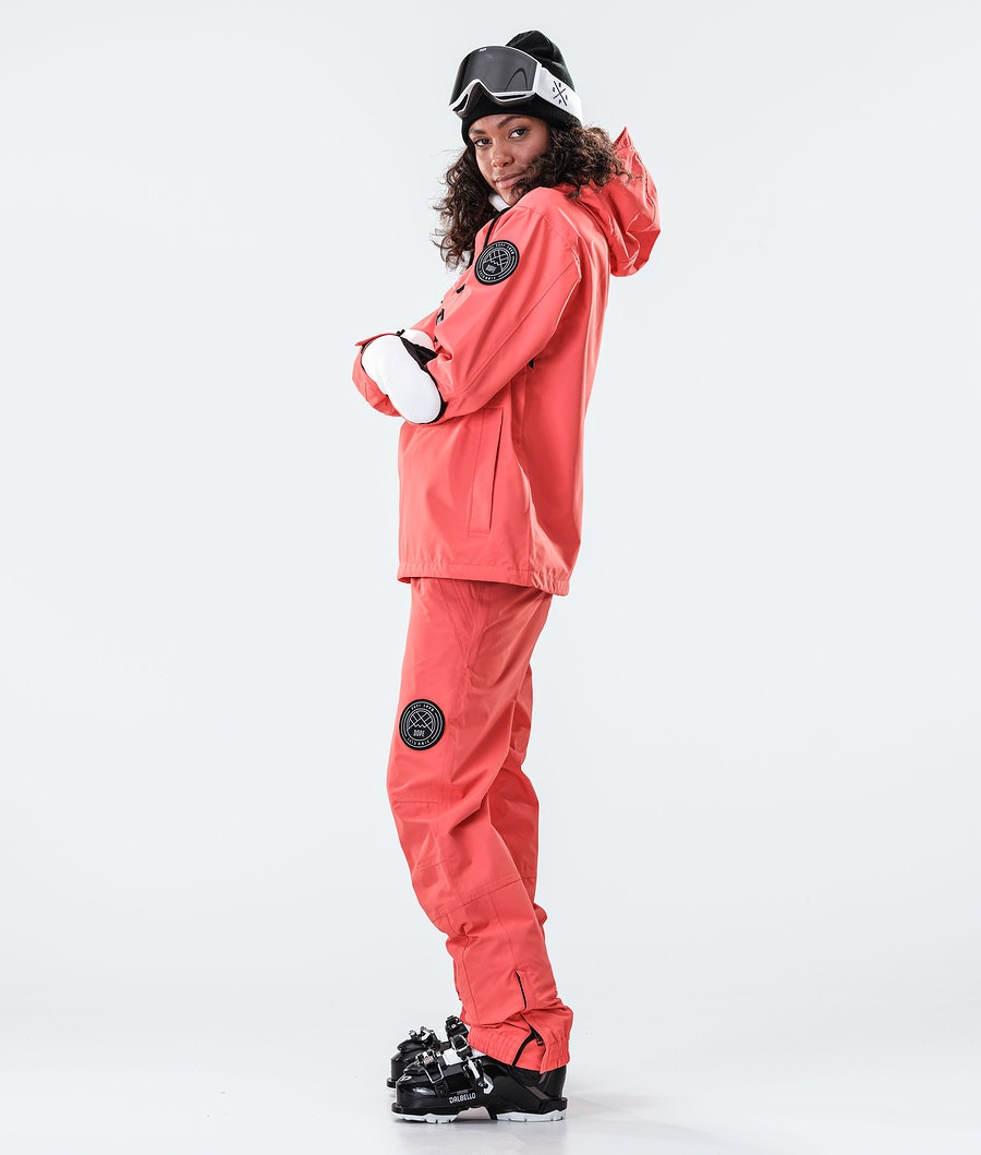 Dope Blizzard PO W 2020 Women's Ski Jacket Coral