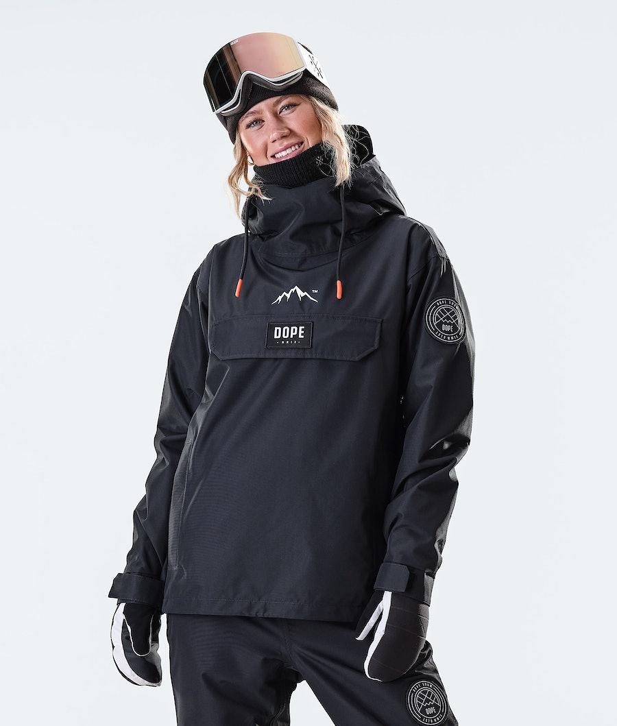 Dope Blizzard PO W 2020 Women's Ski Jacket Black
