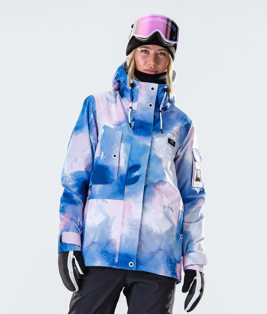 Adept W Snowboard Jacket Women Cloud