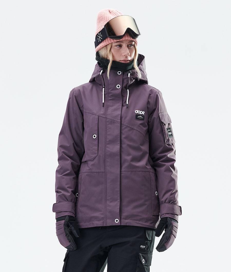 Dope Adept W Women's Snowboard Jacket Faded Grape