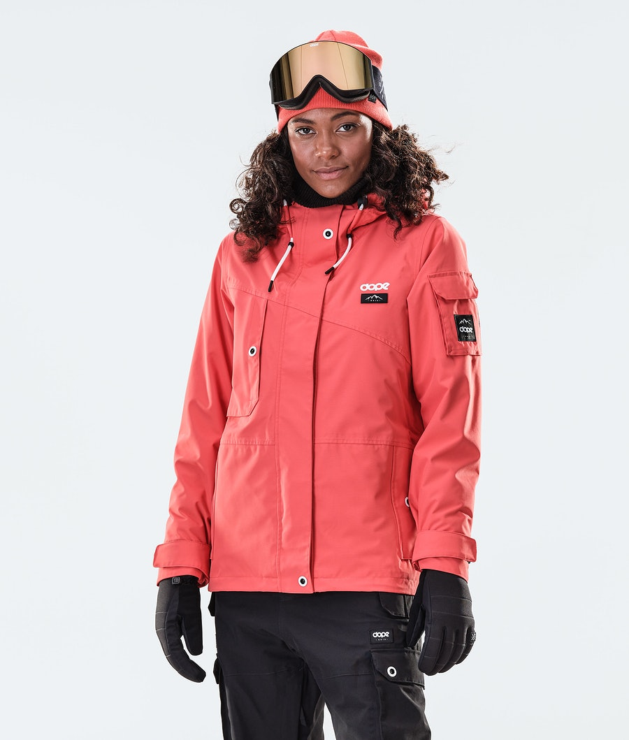 Adept W Snowboard Jacket Women Coral