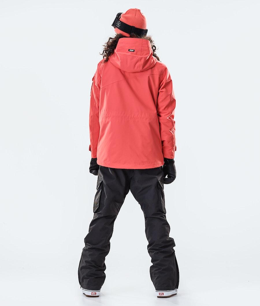 Dope Adept W Women's Snowboard Jacket Coral