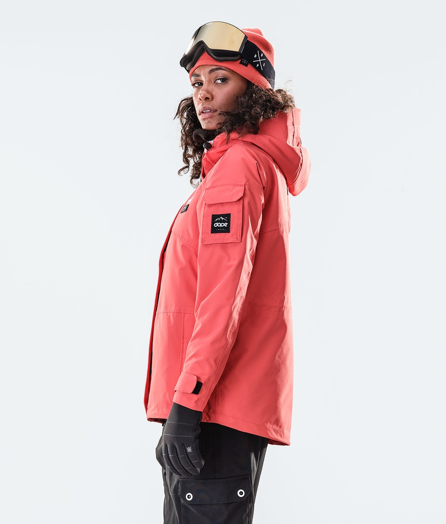 Dope Adept W Ski jas Dames Coral