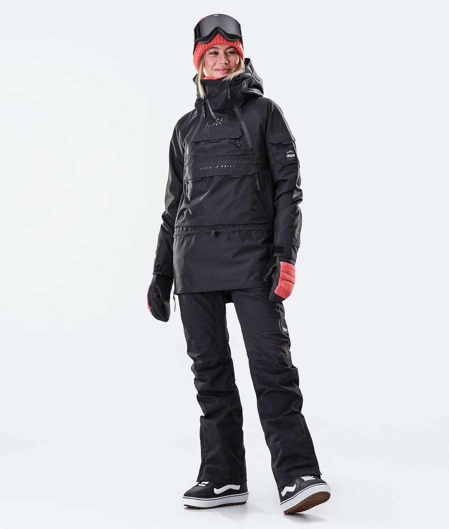 Dope Akin W Snowboardjacke Damen Black