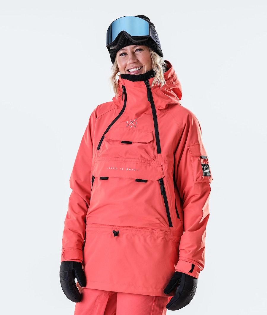 Akin W Snowboard Jacket Women Coral