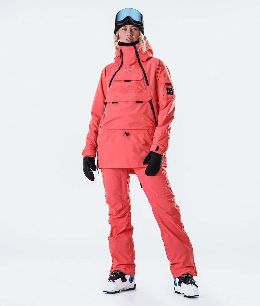 Dope Akin W Veste de Ski Femme Coral