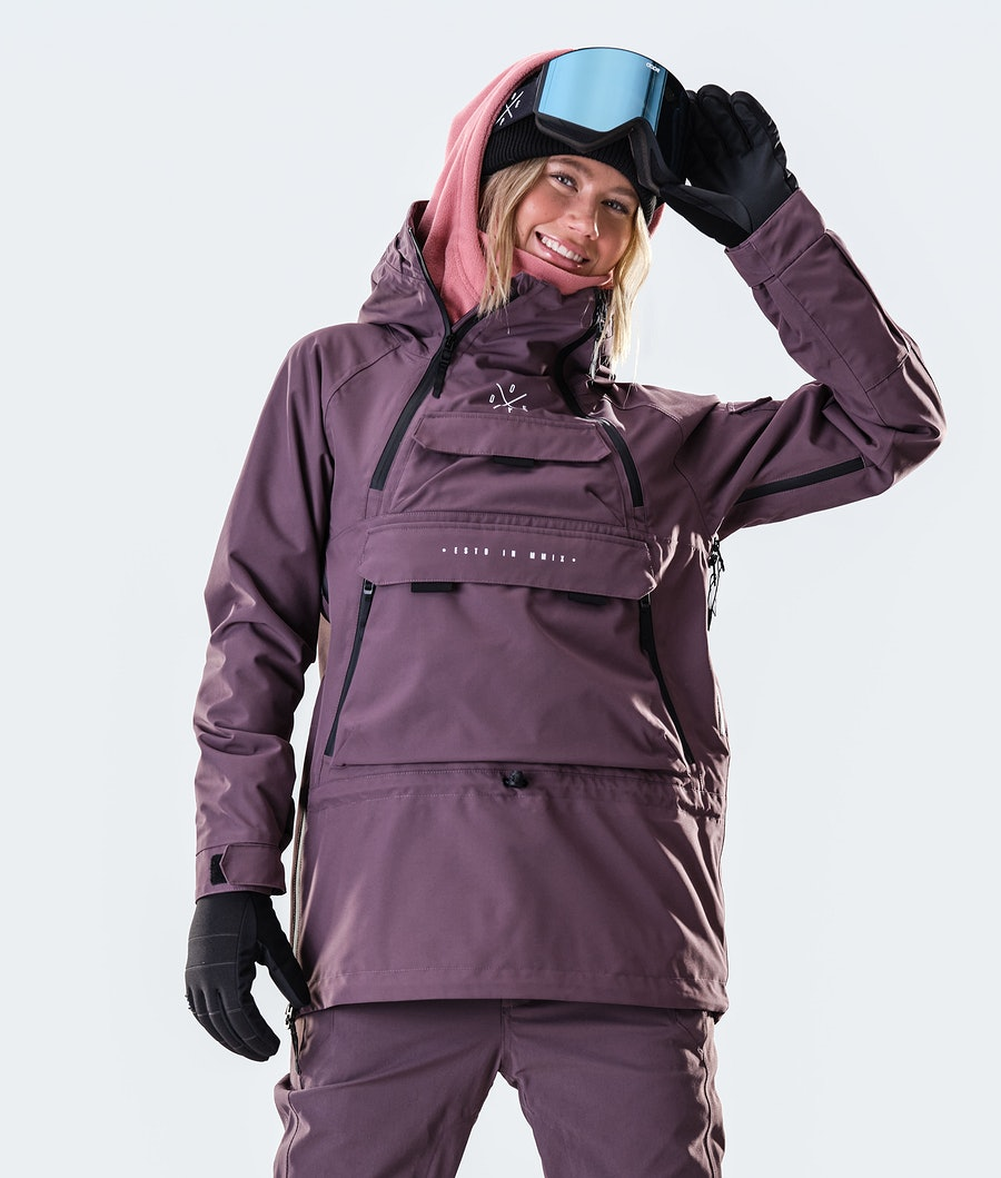 Akin W Snowboard Jacket Women Faded Grape
