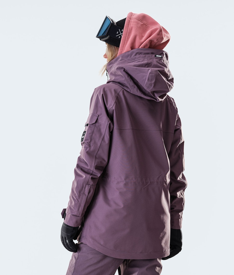 Dope Akin W Snowboardjacke Damen Faded Grape