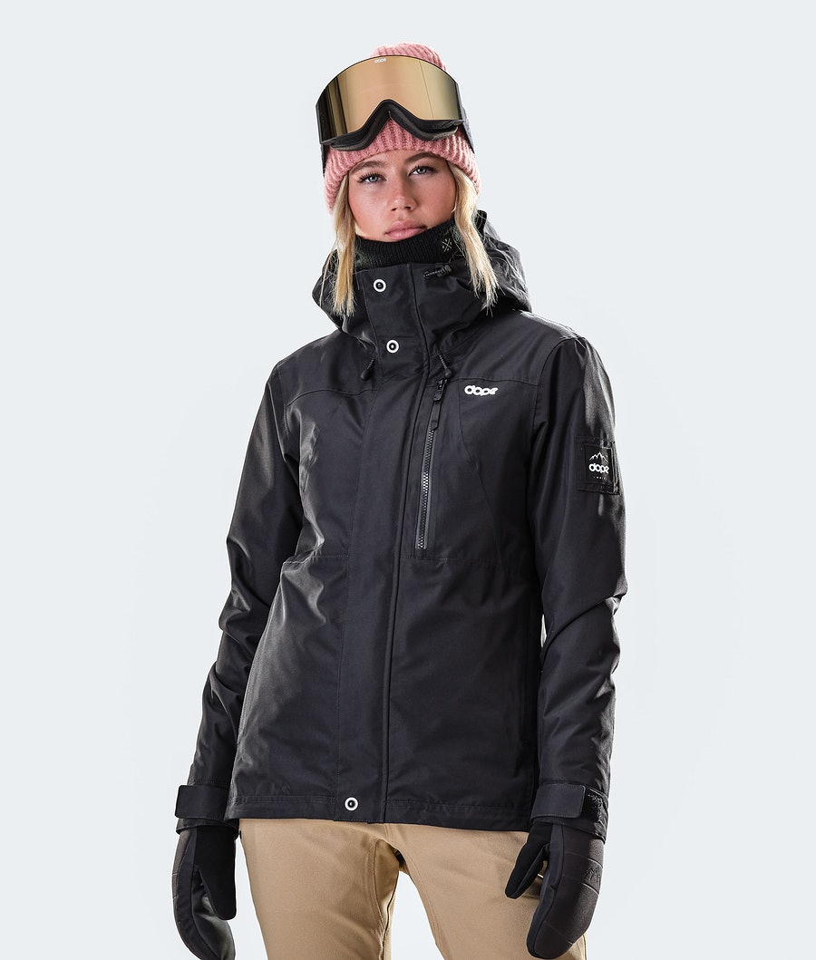 Divine Snowboard Jacket Women Black