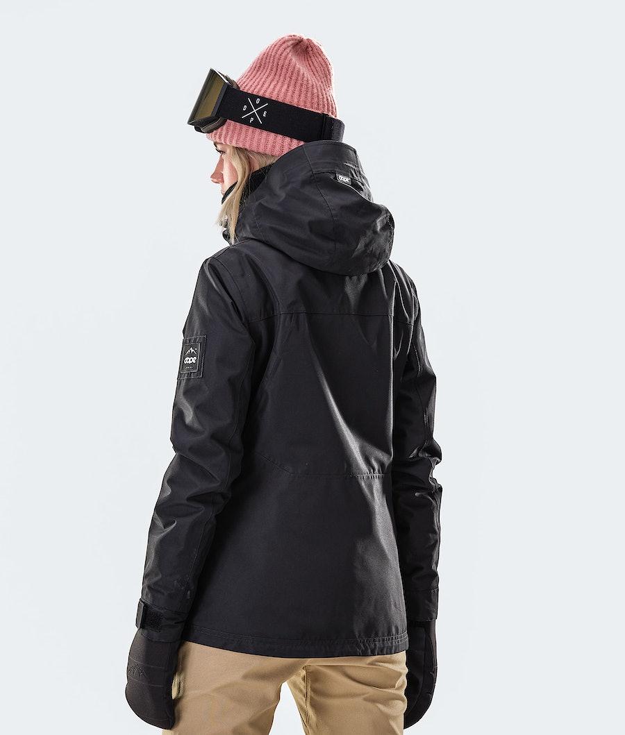 Dope Divine Women's Snowboard Jacket Black