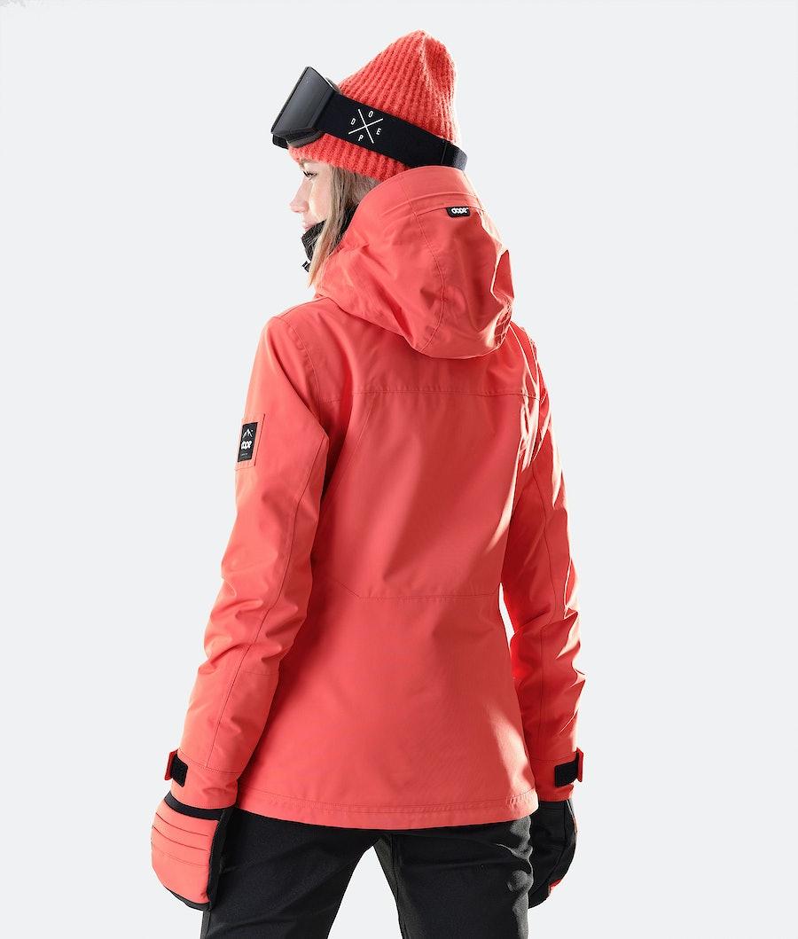 Dope Divine Women's Snowboard Jacket Coral