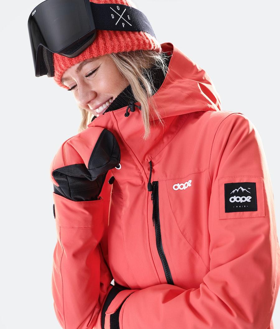Dope Divine Women's Ski Jacket Coral