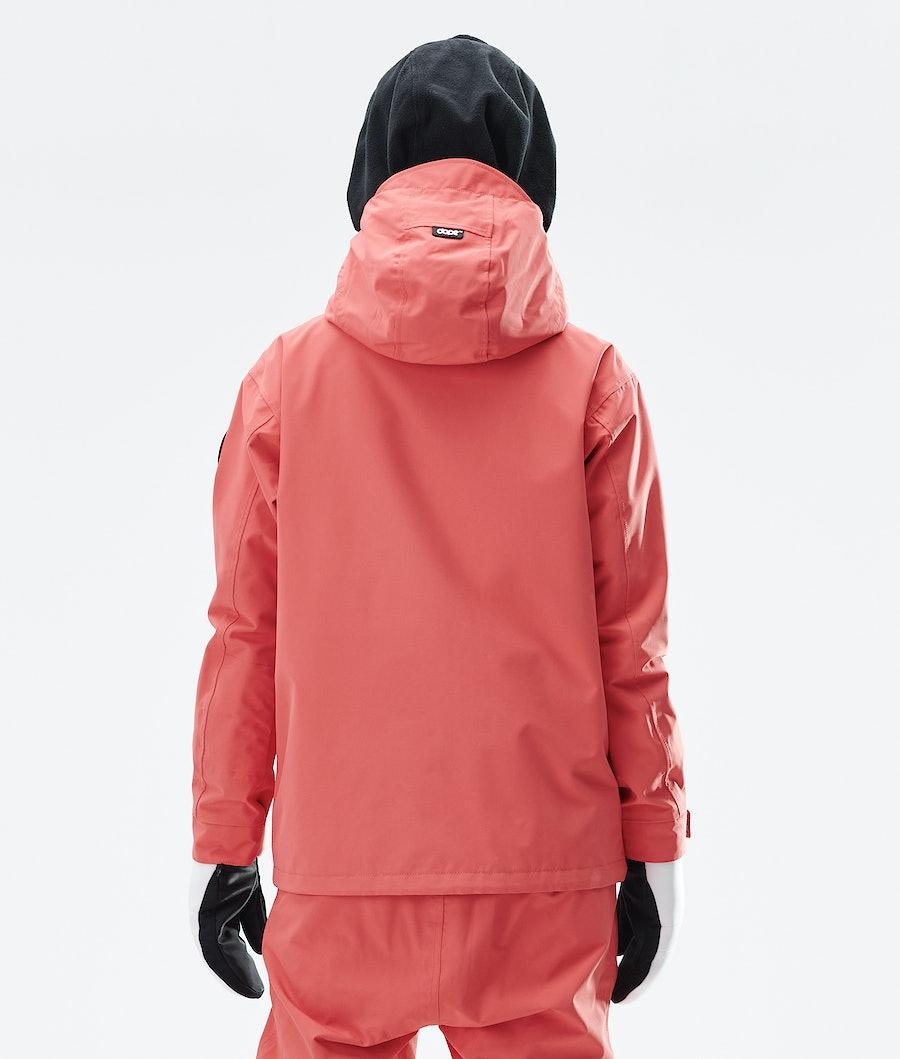 Dope Blizzard FZ W Women's Snowboard Jacket Coral