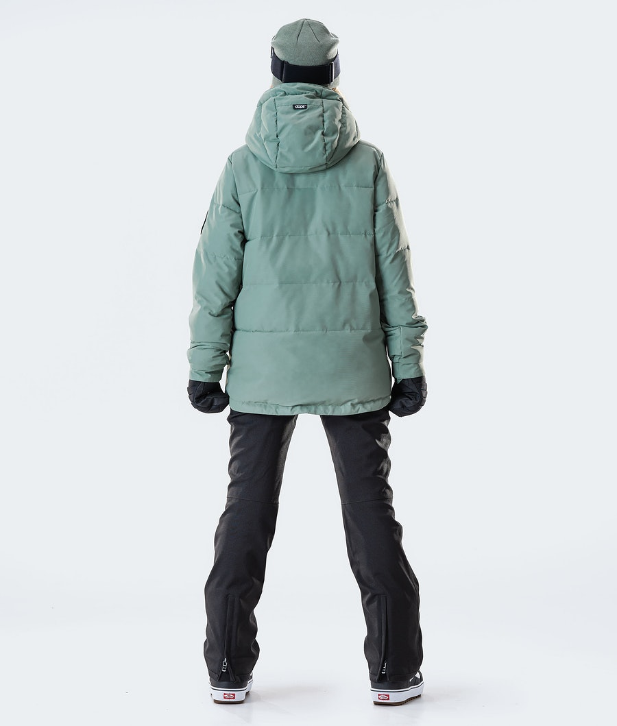 Dope Puffer W Snowboardjacke Damen Faded Green